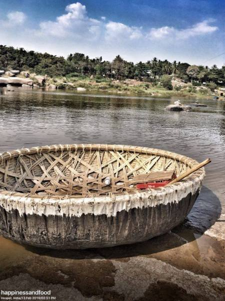 A coracle..