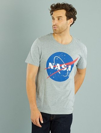 T-shirt Nasa Kiabi | happinesscoco.com