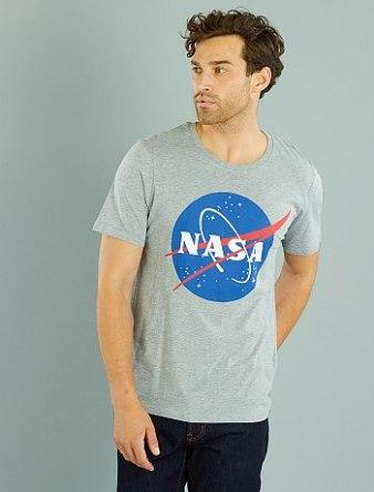 T-shirt Nasa Kiabi | happinesscoco.com