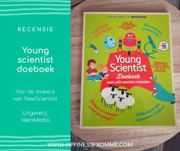 || Recensie || Young Scientist doeboek, over alle soorten vrienden [+Win!] [Gesloten]