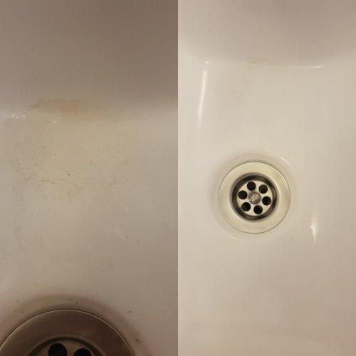 Cleanrite Multi scrubber resultaat