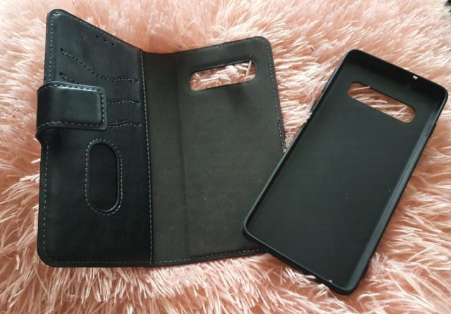 2in1 Gelly Wallet Case Samsung S10