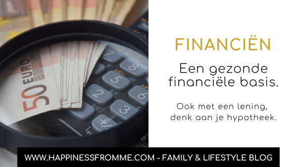 Een gezonde financiële basis, kies verstandig!
