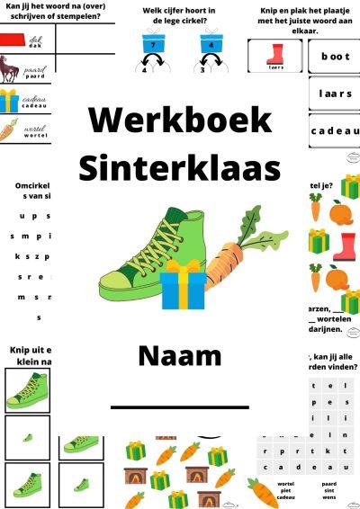 Werkboek Sinterklaas