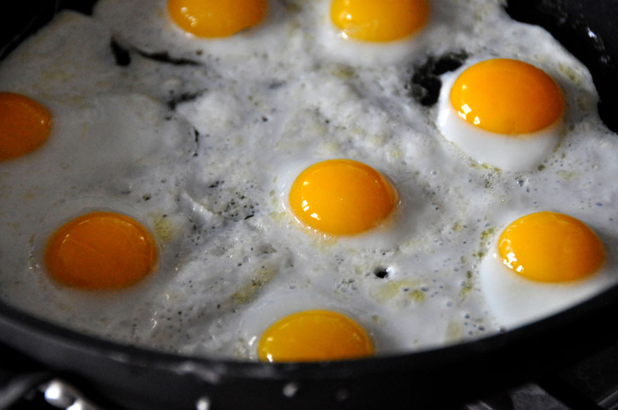 How Many Eggs Do You Have in Your Pan?