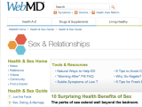 Dr. Ambardar talks about the Health Benefits of Sex for WebMD