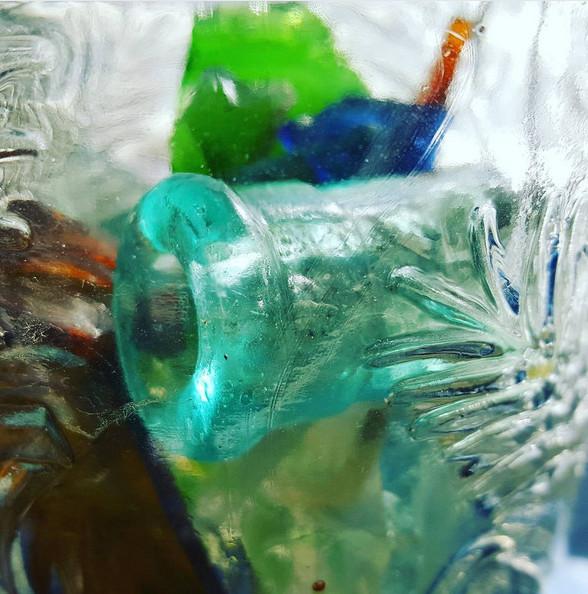 glassshardgreenblue