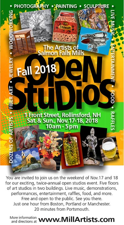 Salmon Falls Artists Mill Open House