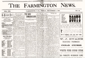 Farmington News, December 1899