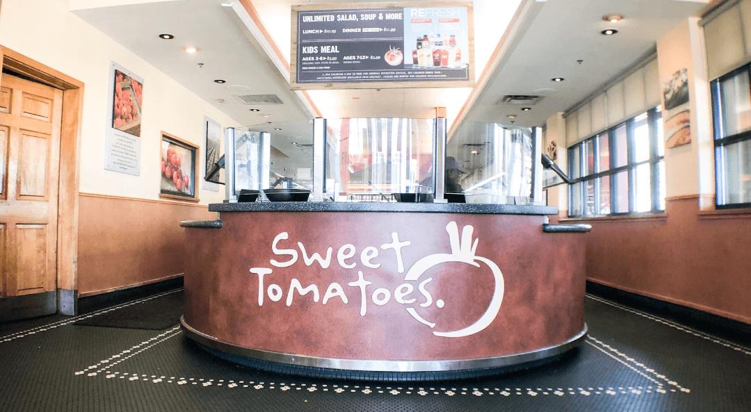 Sweet Tomatoes: Un Restaurante para BLW
