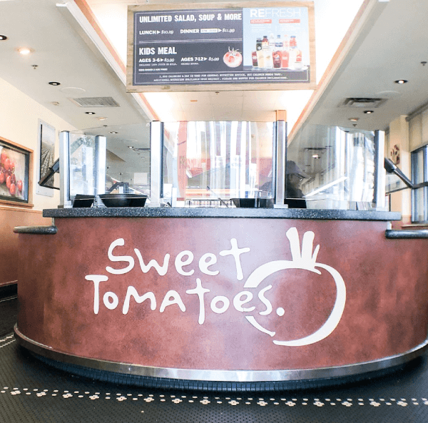 Sweet Tomatoes: Perfect BLW Restaurant