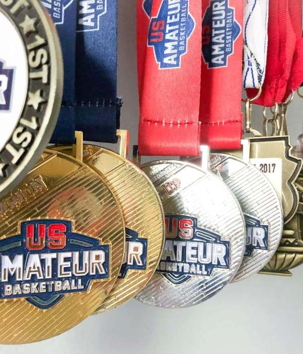 How to display sports medals in your kid's room