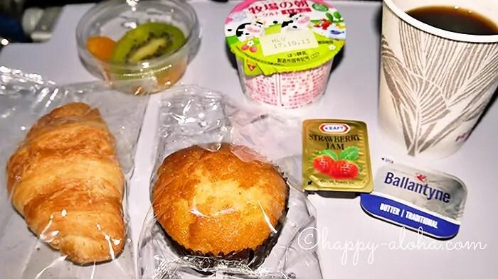 機内食のパン