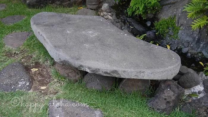 プリンセス・カイウラニが座った石の椅子