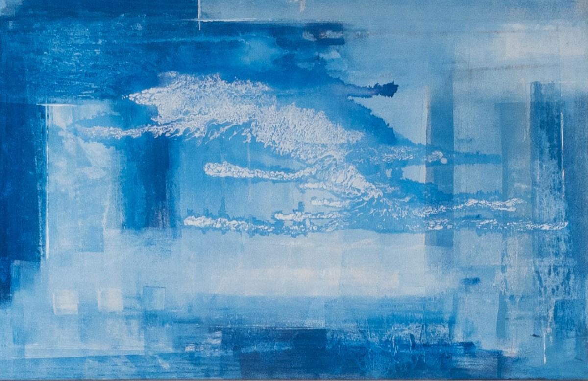 Acrylbild 'Sky' – 140 x 90 cm