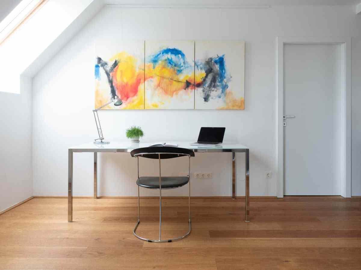 Acrylbild 'Spring' – 195 x 90 cm dreiteilig