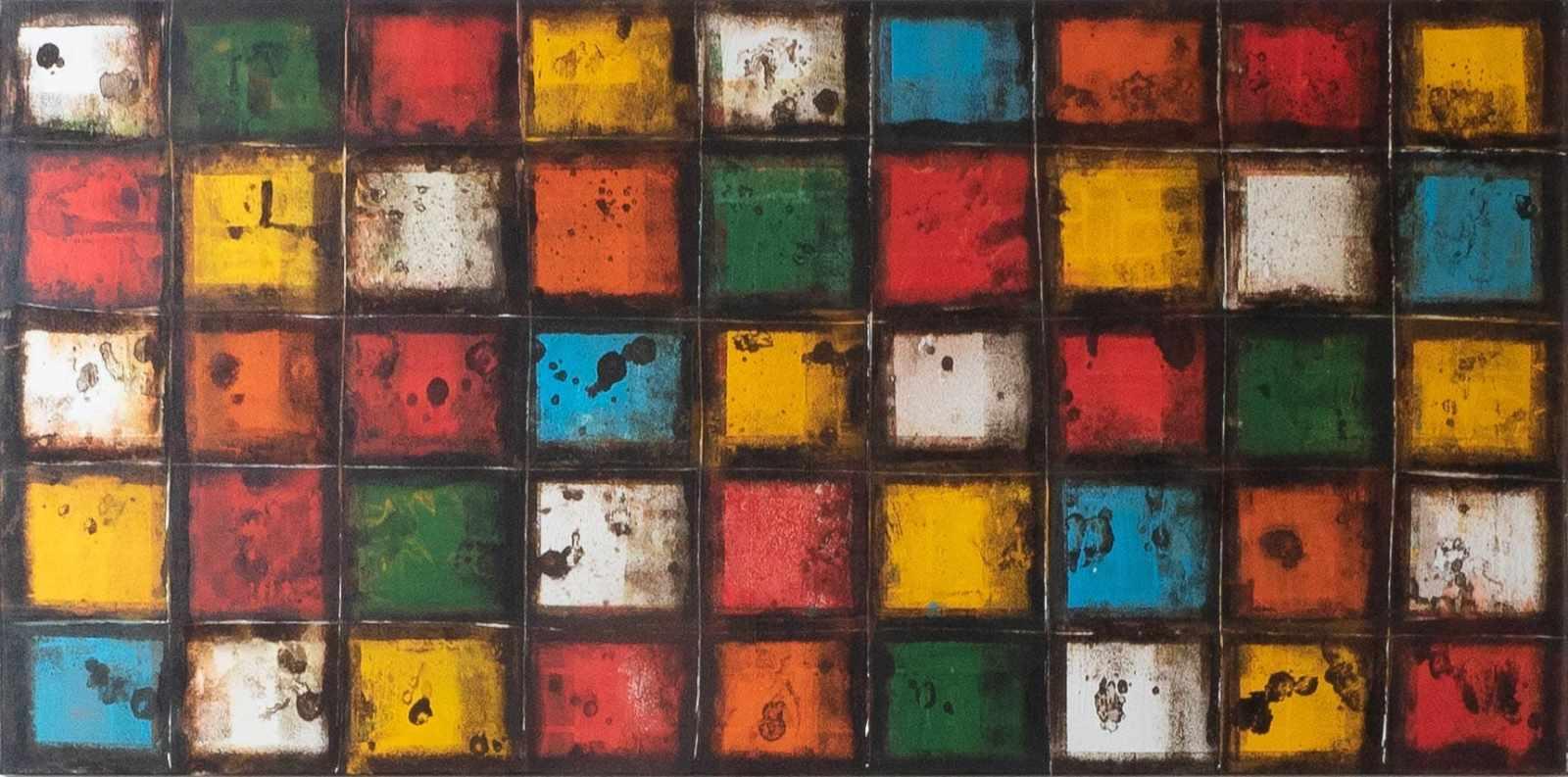 Acrylbild 'Windows' – 180 x 90 cm