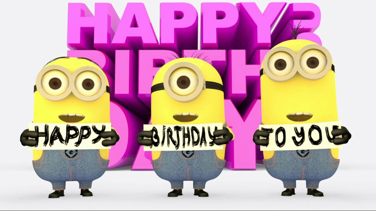 Free Minions Birthday Ecards