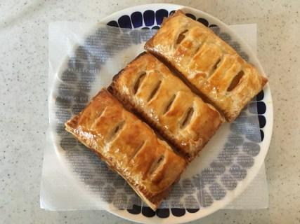 パイシートで簡単アップルパイを焼いてみました*^^*