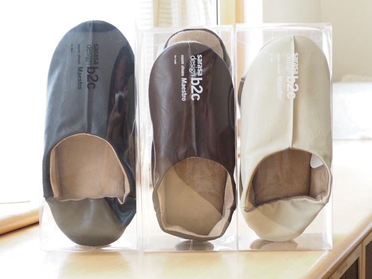 sarasa design storeのルームシューズの履き心地