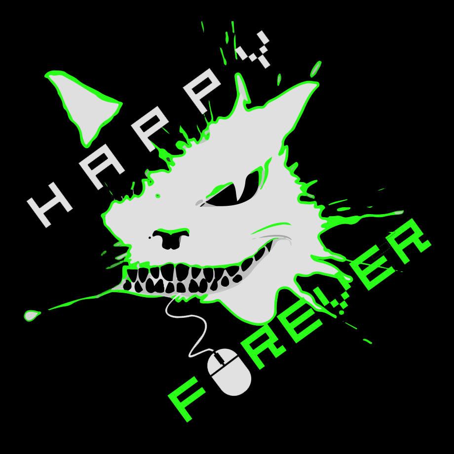 Happy_Forever_logos_black_green_3