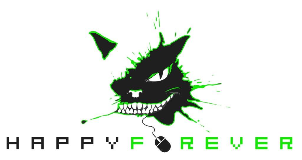 Happy_Forever_logos_white_green_1