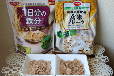 Brown rice flakes6