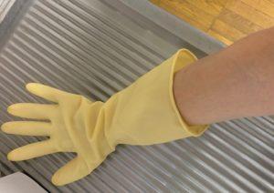 無印良品のゴム手袋