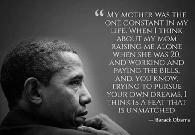 mothers day quotes by Barack Obama