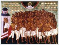Святые 40 мучеников, в Севастийском озере мучившиеся.