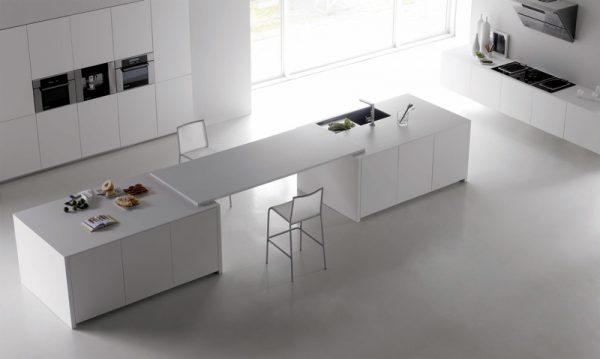 Впечатляващ-дизайн-на-Бяла-Минималис