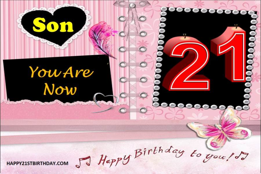 2021 Touching Happy 21st Birthday Wishes For Son From Mother Happy 21st Birthdays