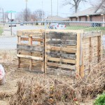 New, Improved Pallet Compost Bins