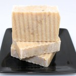 Peppermint Honey Oatmeal Soap