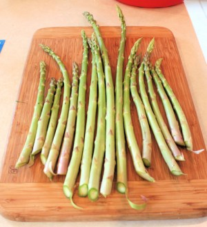 some of the bigger asparagus