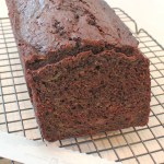 Spelt Chocolate Zucchini Bread