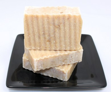 Peppermint Honey Oatmeal Soap (from March)