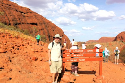 me at Kata Tjuta