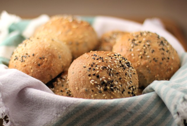 Multi-Grain Seeded Dinner Rolls