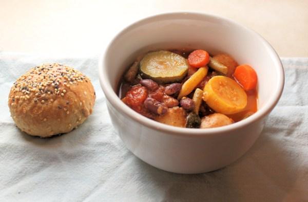 vegetable soup from frozen veggies