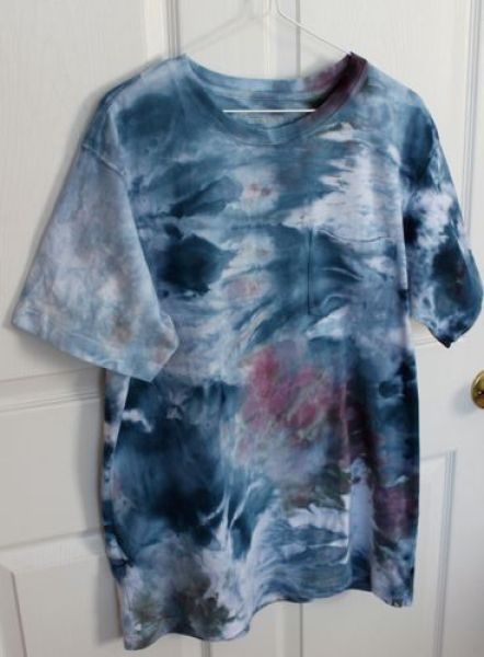 snow-dyed t-shirt