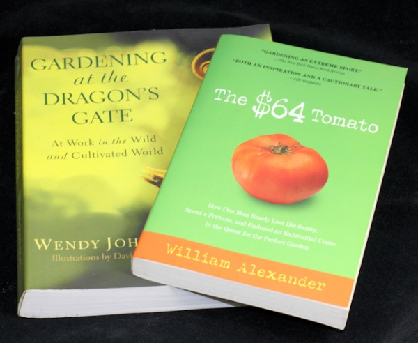 Humorous and practical books for gardeners
