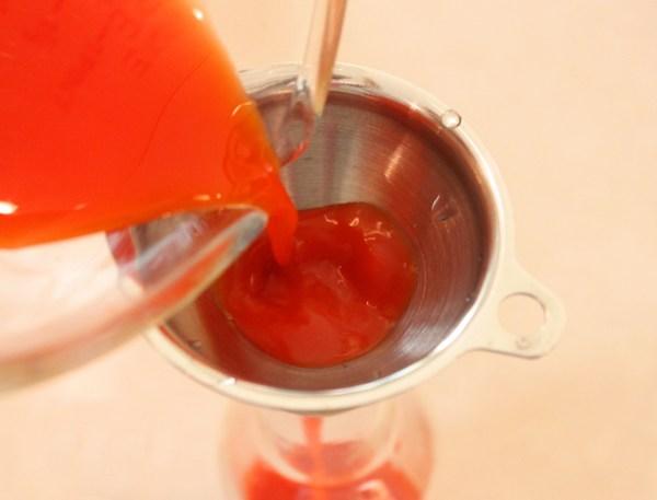 bottling the hot sauce