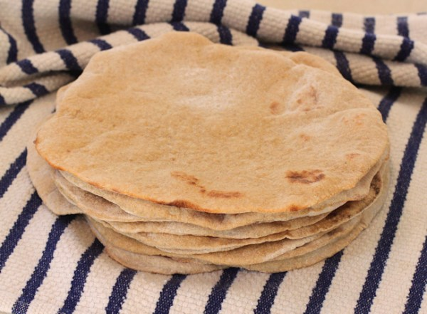 Whole Wheat Sourdough Pita Bread