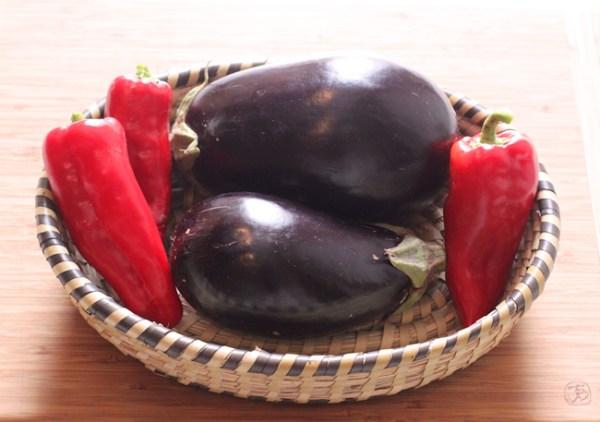 Nadia eggplant and Tolli