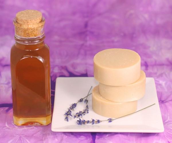Lavender Honey Bastille Soap