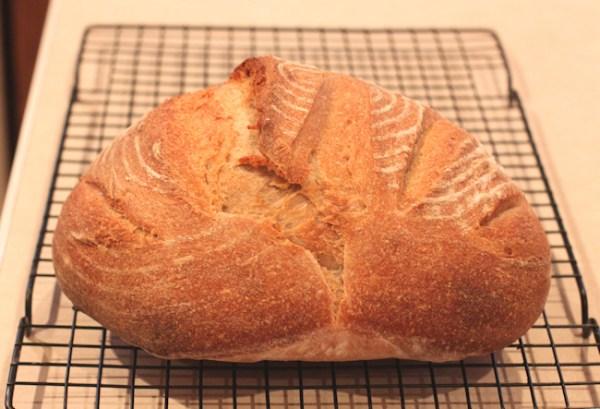 1-2-3 Sourdough Bread