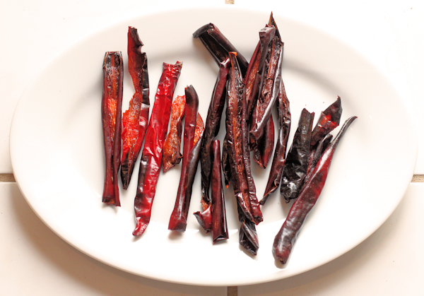 smoked Dulce Rojo peppers