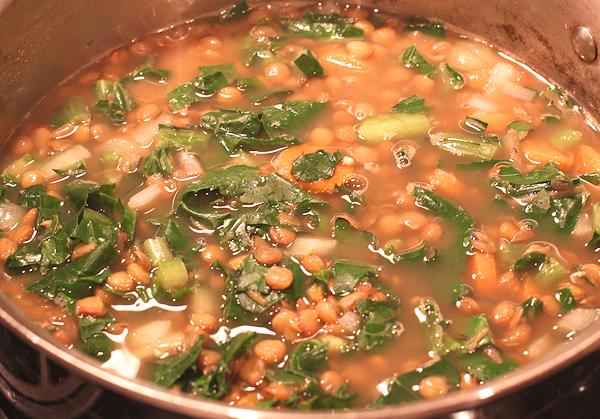 Lentil & Kale Soup