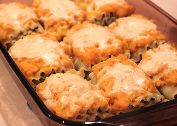 Butternut Lasagna Rolls